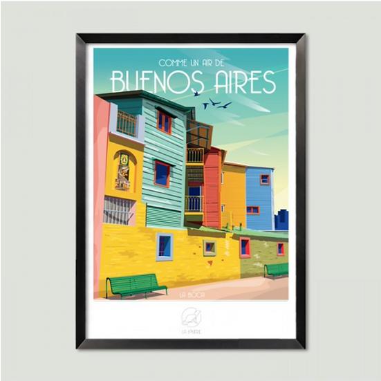 Affiche Buenos Aires La Loutre