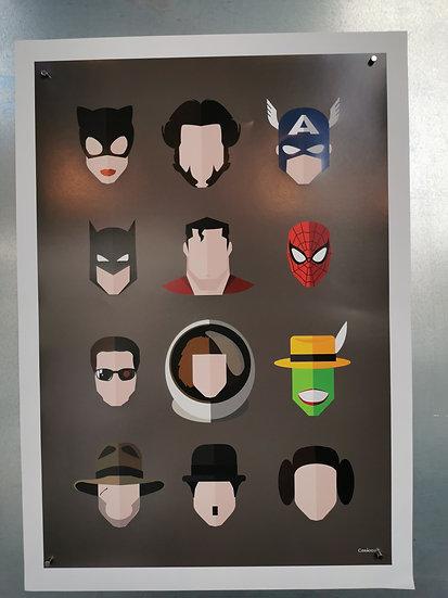 Affiche heros
