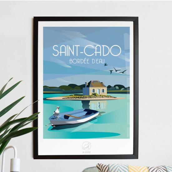 Affiche Saint Cado La Loutre