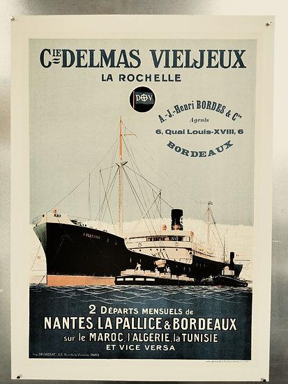 Affiche Delmas la Rochelle bordeaux