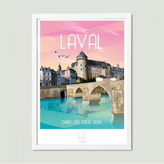 Affiche Laval La Loutre