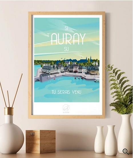 Affiche Auray La Loutre