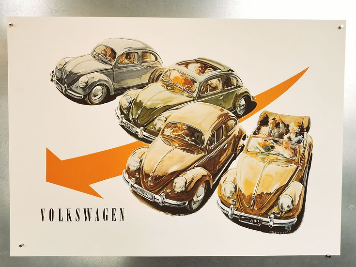 Affiche Volkswagen