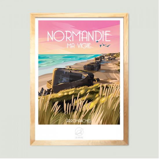 Affiche NormandieLa Loutre
