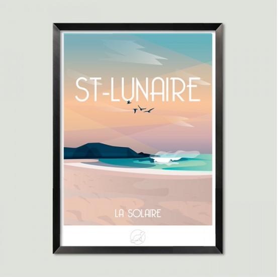 Affiche St-Lunaire La Loutre