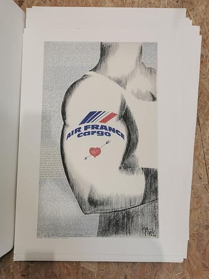 Affiche air France cargo