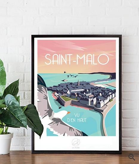 Affiche Saint-Malo La Loutre