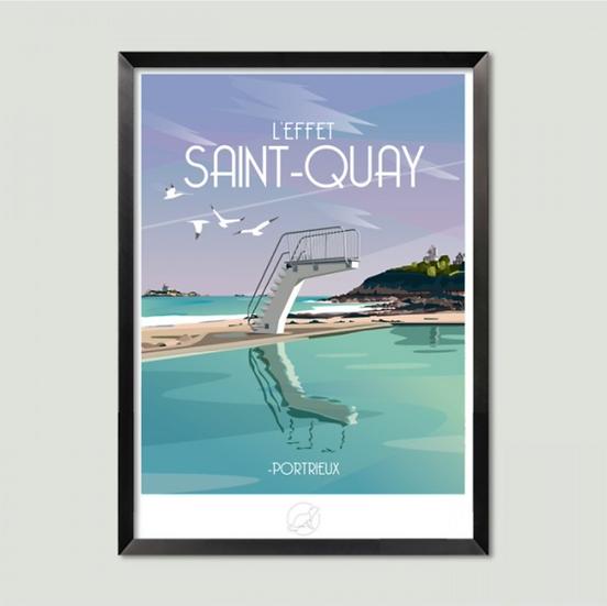 Affiche Saint-Quay La Loutre