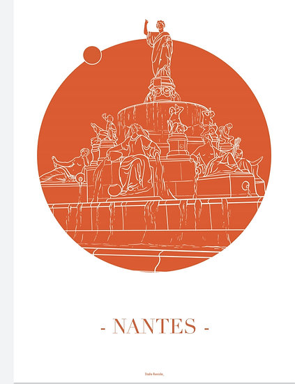 Affiche Nantes Royale