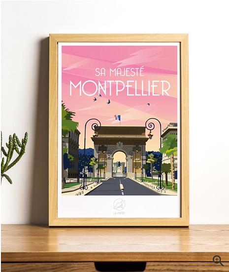 Affiche Montpellier La Loutre