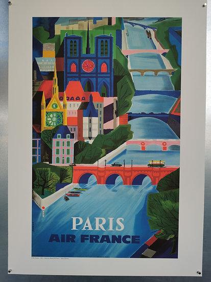 Affiche Paris Air France