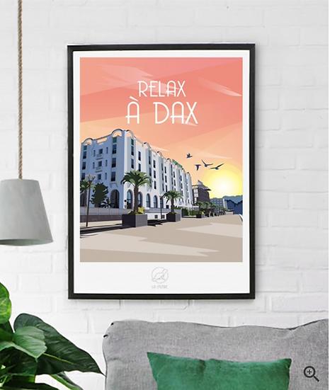 Affiche Dax La Loutre