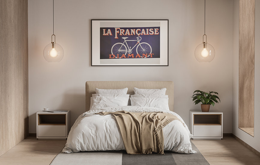 Affiche Diamant vélo