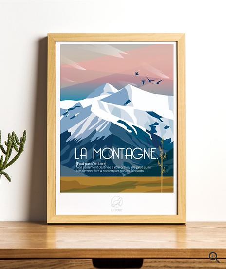 Affiche la Montagne La Loutre