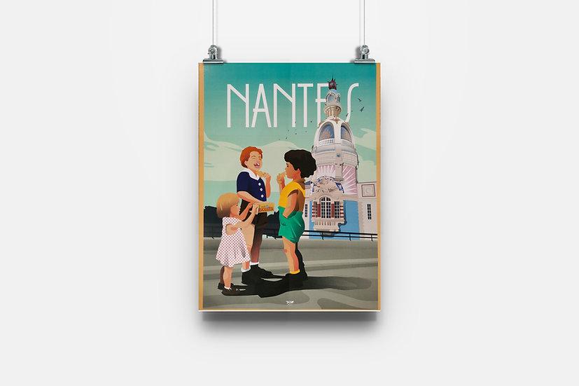 Affiche Nantes Lu enfants