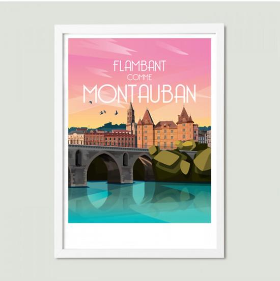 Affiche Montauban La Loutre