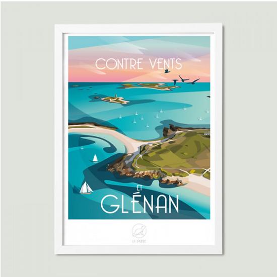 Affiche Glénan La Loutre