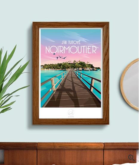 Affiche Noirmoutier La Loutre