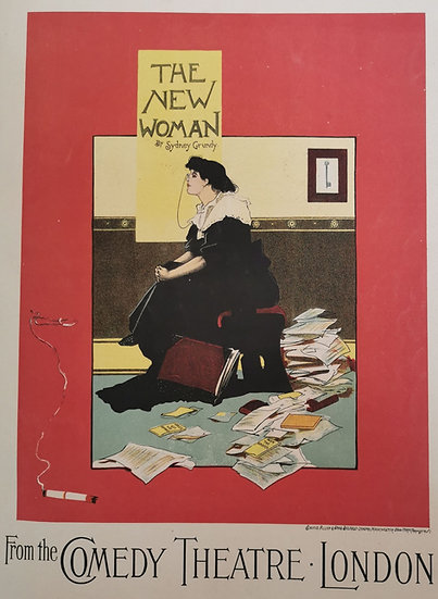 Affiche the new woman