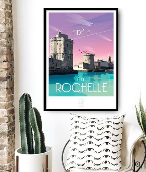 Affiche La Rochelle La Loutre