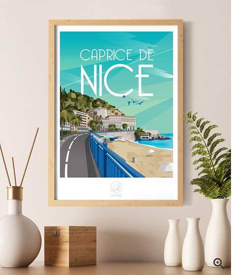 Affiche Nice La Loutre