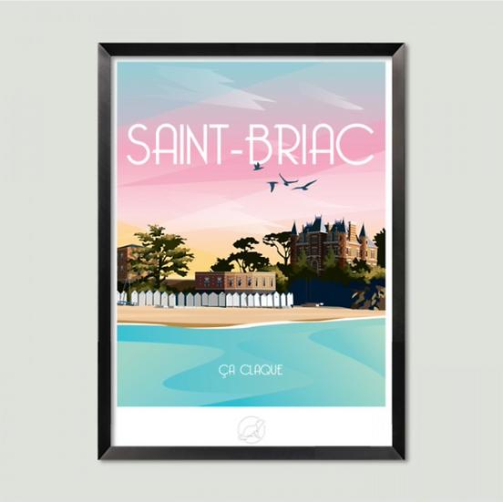 Affiche Saint-Briac La Loutre