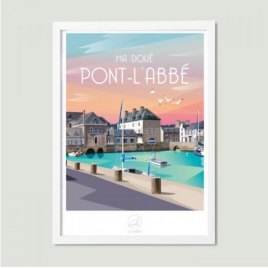 Affiche Pont-L'Abbé La Loutre
