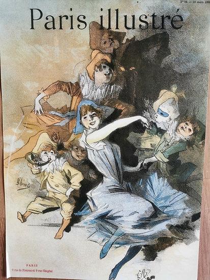 Affiche Paris illustré