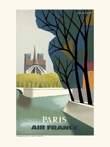 Affiche notre dame Paris