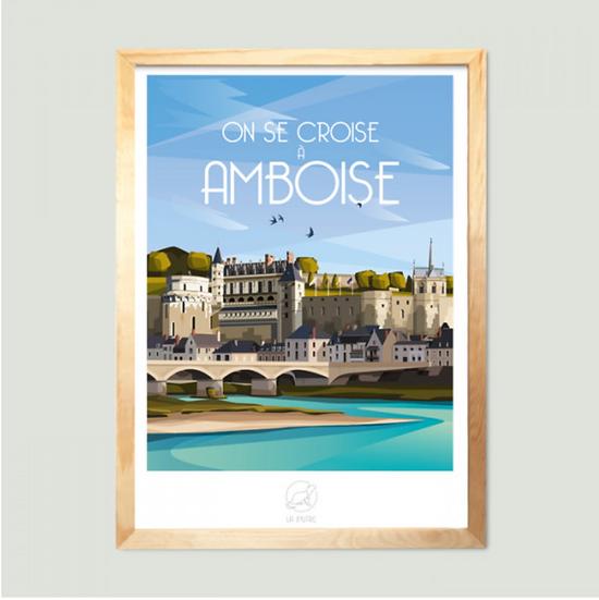 Affiche Amboise La Loutre