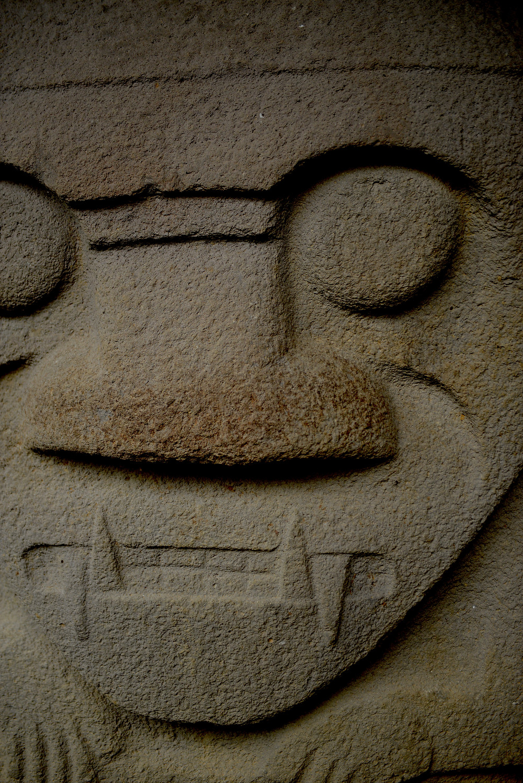 Stone shaman of San Augustin