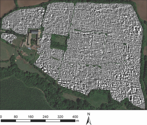 Buried Roman city mapped by technique set to revolutionise archaeology