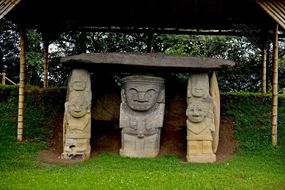 Stone shamans of San Augustin