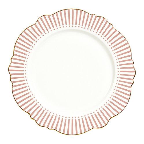 Madame de Récamier - Plato llano rosa
