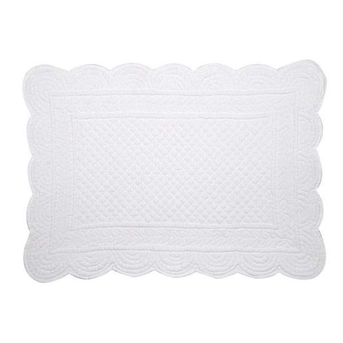 CARMEN - Mantel individual blanco