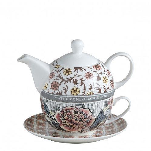Tetera con taza Madame Pompadour