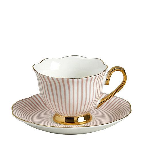 Madame de Récamier - Taza de café rosa