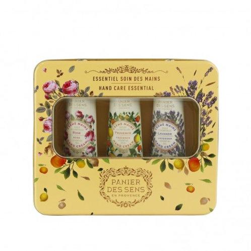 ESSENTIELS - Caja de 3 cremas de manos