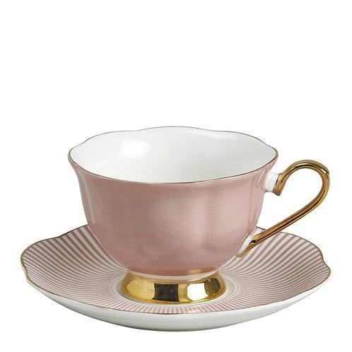 Madame de Récamier - Taza té rosa