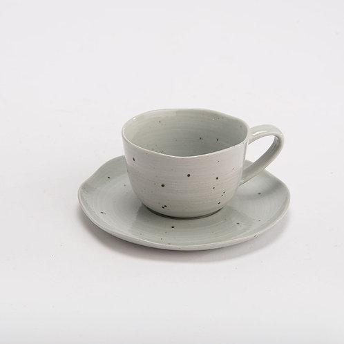 ALBANE - 2 tazas café gres