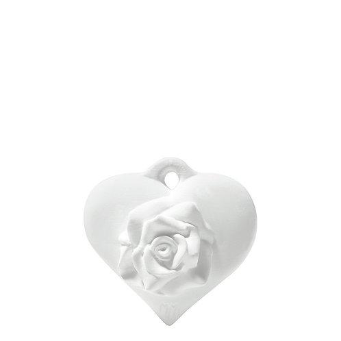 Decoración perfumada Corazón Rosa - Rose Élégante