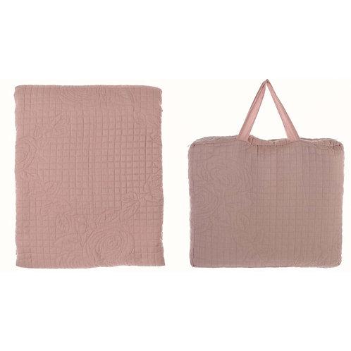 Parsifal - Colcha de algodón rosa