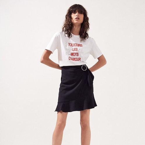 """Camiseta """" Toujours les mots d'amour"""""""