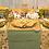 Thumbnail: Mantel lino algodón 150x205 - Verde