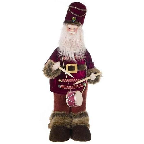 Papa Noel decorativo h 64 cm