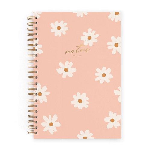 Cuaderno L - Floral Pink