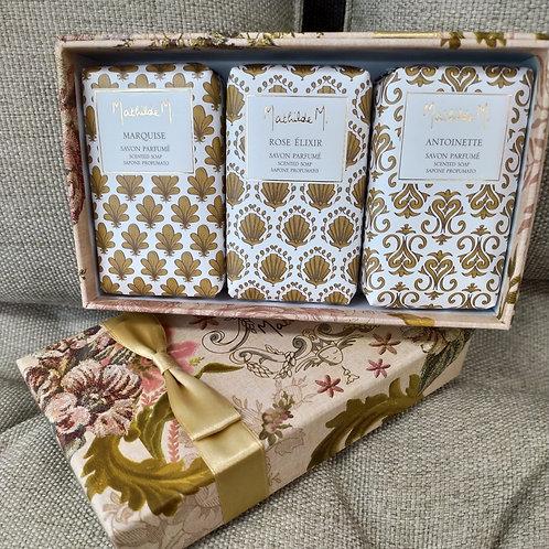 Cajita con jabones Cabinet des Merveilles