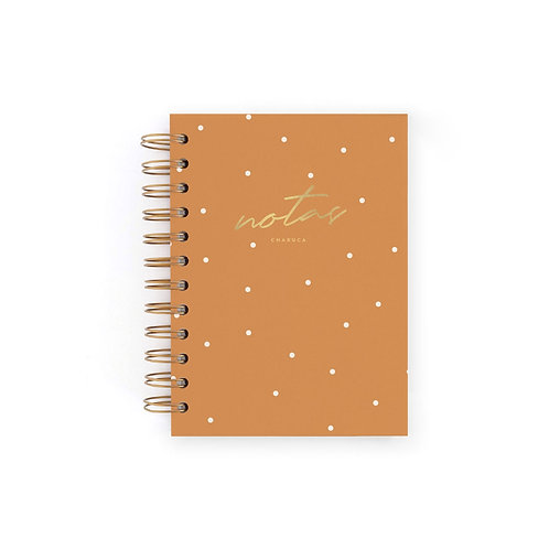 Cuaderno Mini Notas - Canela
