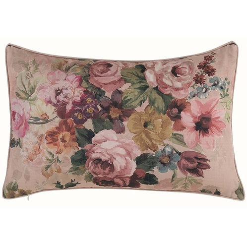 Antique Rose - Cojín rectangular