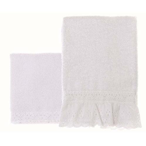 Innamorati - Juego de toallas blanco